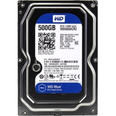 "Накопитель HDD 3.5""   500 Gb SATA-III Western Digital Caviar Blue WD5000AZRZ 5400rpm 64Mb"