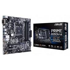 М/плата ASUS PRIME B350M-A Socket AM4 PCI-E/RAID/HDMI/DVI 4DDR4 mATX RTL