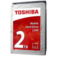 "Накопитель HDD 2.5"" 2Tb SATA-III Toshiba L200 HDWL120UZSVA 5400rpm 128Mb для ноутбука"
