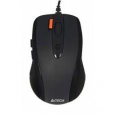 Мышь A4Tech N-70FX, черный, технология V-Track, работает на любой поверхности, 1600DPI