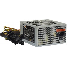 Блок питания ATX BoxIT S600W 120mm fan/24+8 pin/PPFC