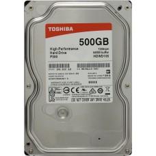 "Накопитель HDD 3.5""   500 Gb SATA-III Toshiba P300 HDWD105EZSTA 7200rpm 64MB RTL"