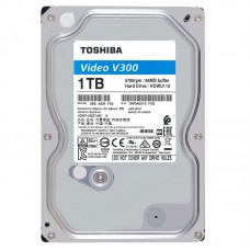 "Накопитель HDD 3.5""  1Tb SATA-III Toshiba Video V300 HDWU110UZSVA 5700rpm 64 MB"