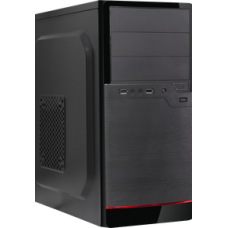 Корпус ATX BoxIT 3306BR 450w black-red