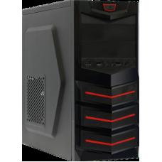 Корпус ATX BoxIT 3303BR 400w black-red